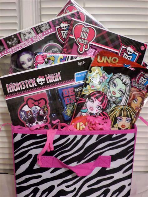 monster high basket gift ideas  children pinterest