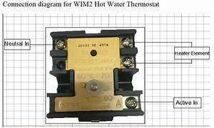 Wiring Diagram Hot Water Heater Thermostat
