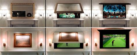 Decorative Recessed Light Cover by Tv Cover Ups Frame Tv Mirror Amp Art Solutions Tv Cover Ups