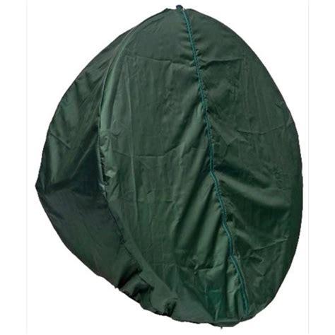 globo single pod chair cover green the garden factory