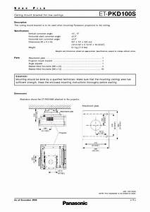 Et-pkd100s Manuals