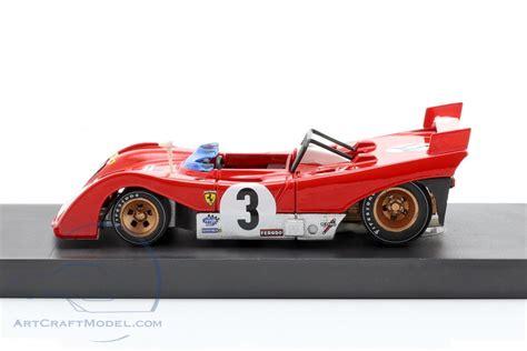 1991   changed parts + Ferrari 312PB #3T Winner Targa Florio 1972 Testcar Merzario, Munari - R261BT, EAN 8020677025672