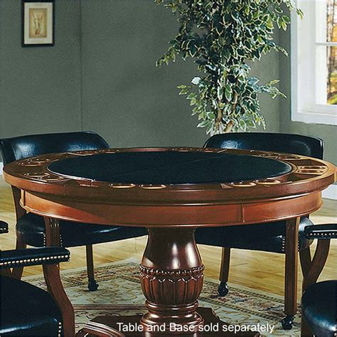steve silver poker table steve silver tournament 50 quot round poker game top cherry