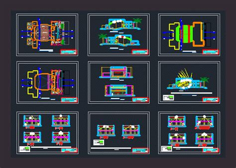 room acoustic conditioning dwg block  autocad