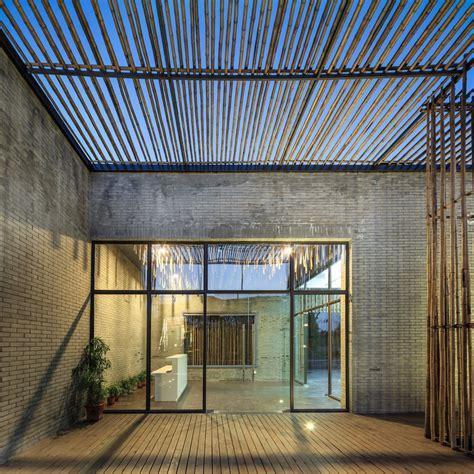 Harmonious World Houses by Tea House Yangzhou Bamboo Building E Architect