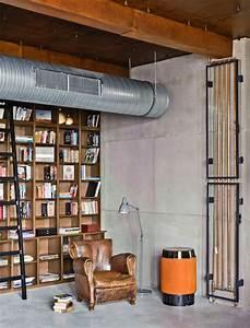 Deco Murale Industrielle : int grer la d coration industrielle l int rieur contemporain ~ Teatrodelosmanantiales.com Idées de Décoration