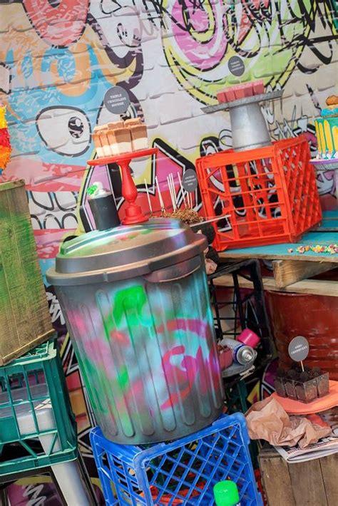 graffiti themed birthday party festa tematica arts