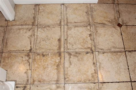 what are the reasons for your tile grout to look