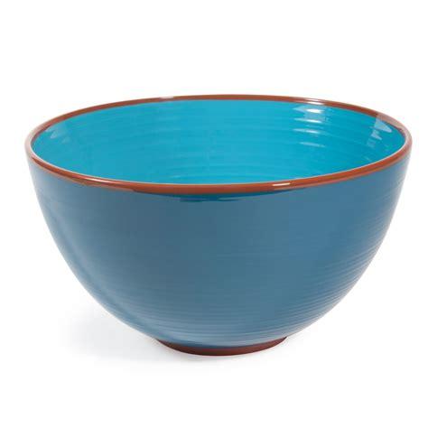 chambre ado fille bleu saladier en faïence bleue madrid maisons du monde