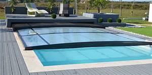 Abri De Terrasse Coulissant : abris piscines extra plat installateur charlet piscines ~ Dode.kayakingforconservation.com Idées de Décoration