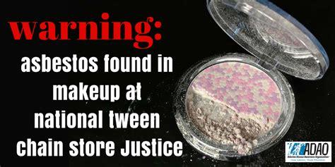 urgent warning asbestos   makeup  national tween