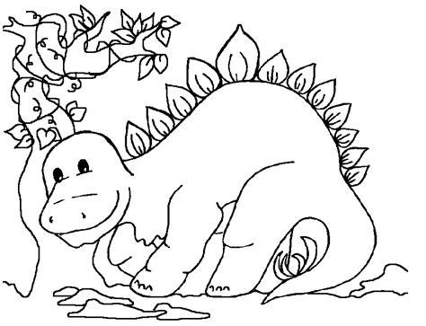 Dinosaur Coloring Pages For Kids - Eskayalitim