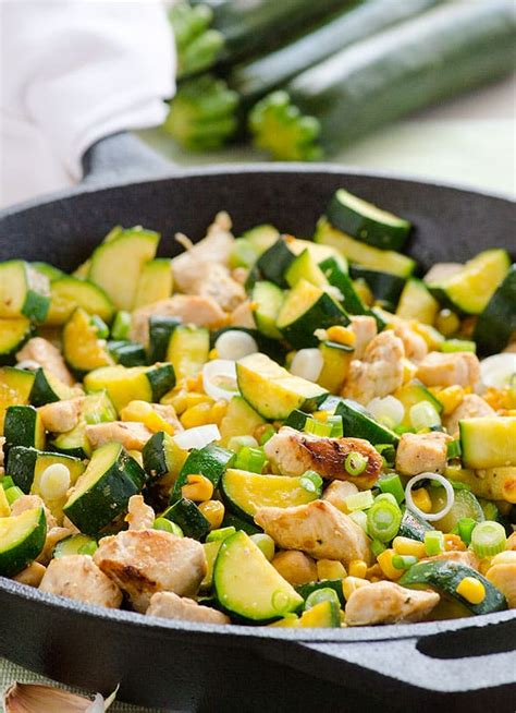 healthy zucchini  squash recipes ifoodreal