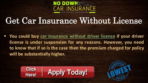 Cheap Car Insurance Without Drivers License – Know About