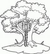 Coloring Tree Magic Pages Clipart Microsoft Clip sketch template