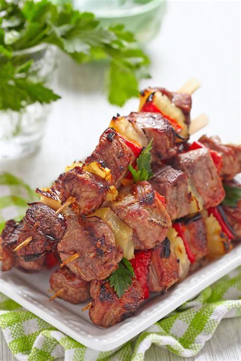 cuisine au grill comment cuire des brochettes de boeuf au four
