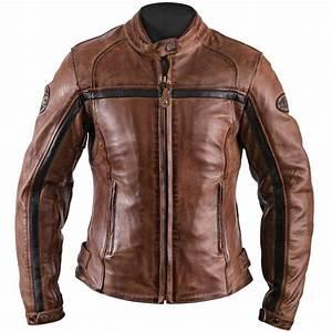 Blouson Moto Vintage Femme : blouson moto femme helstons daytona cuir crust camel vintage ~ Melissatoandfro.com Idées de Décoration
