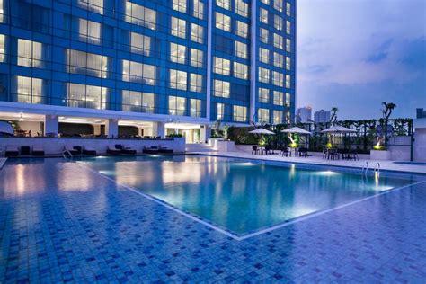 hotel  pusat kota bandung  kolam renang