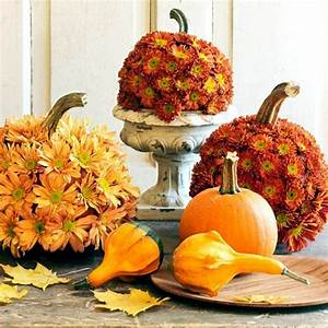 15, Autumn, Decoration, Ideas, With, Flowers, And, Fruits, For, Home, And, Garden