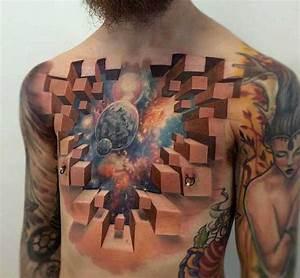 Kleine Männer Tattoos : 16 abgefahrene brusttattoos f r m nner tattoo spirit ~ Frokenaadalensverden.com Haus und Dekorationen