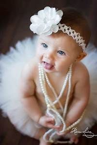 6 month baby girl pearls/vintage | Photographs I love ...