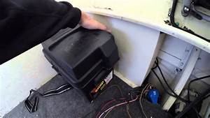Transducer Wiring Tips  U0026 Battery Box Install