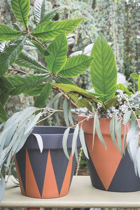 les 25 meilleures id 233 es de la cat 233 gorie pots de fleurs peints sur pots de fleurs