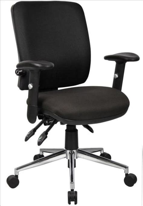 office chair with adjustable arms medium back posture task office chair with adjustable arms