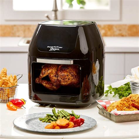 fryer air power fryers oven rotisserie airfryer cooking qt dehydrator xl tv features seen pro professional amazon ovens fat low