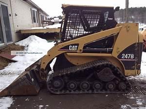 2005 Cat 247b Tracked Skid Steer Loader