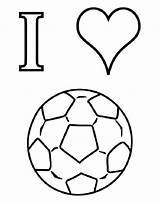 Football Coloring sketch template