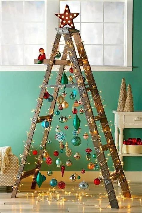 turn   ladder   christmas tree home design