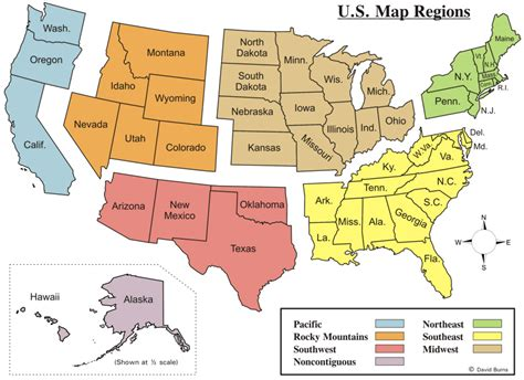 Map Of Midwest Usa States And Capitals Region Of United States