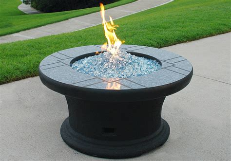 propane fire table glass modern fire pit propane design and ideas