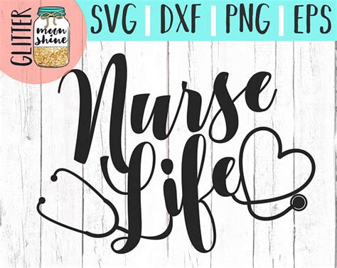 Here you will find cut files for vinyl cutting machines, ai, eps, svg, dxf, dwg along with tutorials and tips for your vinyl cutting hobby or business! Nurse Life svg eps dxf png Files for Cutting Machines Cameo