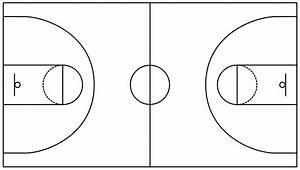 Diagram  Blank Basketball Coaches Court Diagram