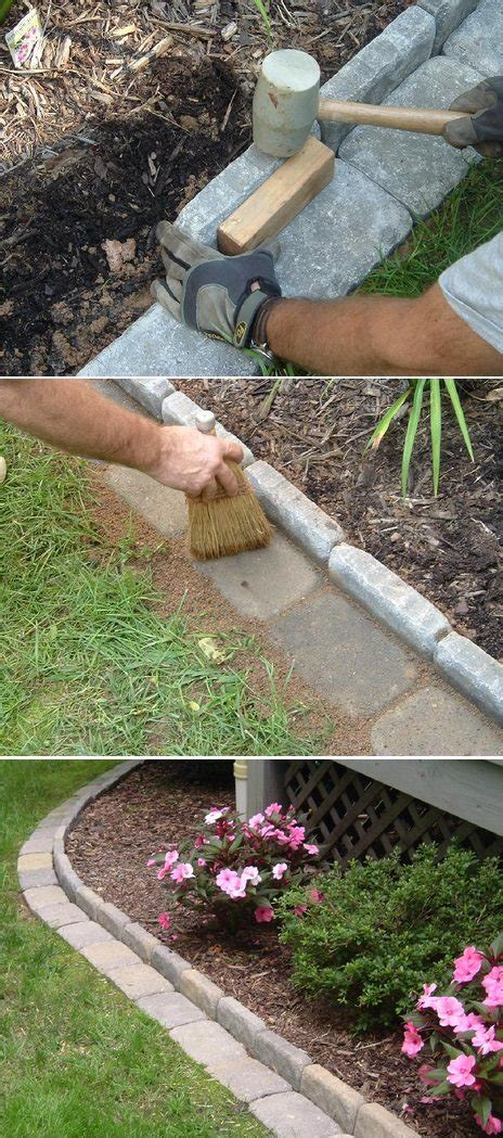 mow lawn edging beautiful classic lawn edging ideas the garden glove