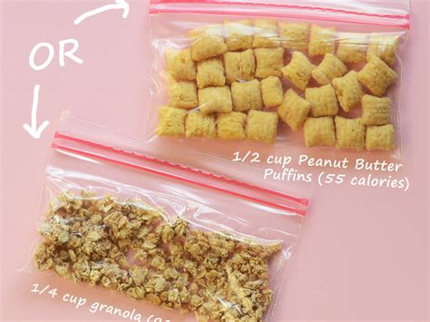 Make Your Own 100-calorie Snack Packs