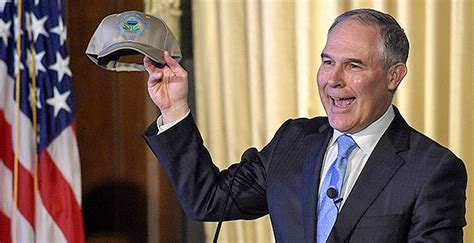 epa pruitt recuses   clean power plan wotus