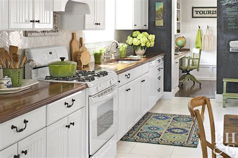 Decorating Ideas For The Kitchen by Kitchen Decorating Better Homes Gardens