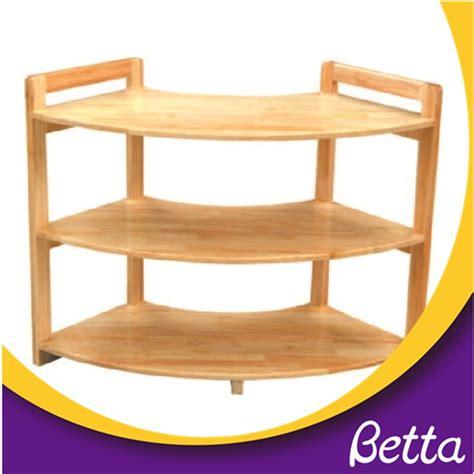 preschool furniture children wooden movable bookshelf 773 | kindergart