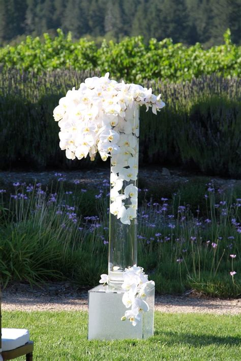 Best White Orchid Wedding Images Pinterest Decor