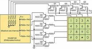 Basic Circuit Eliminates Numeric Keypad Polling