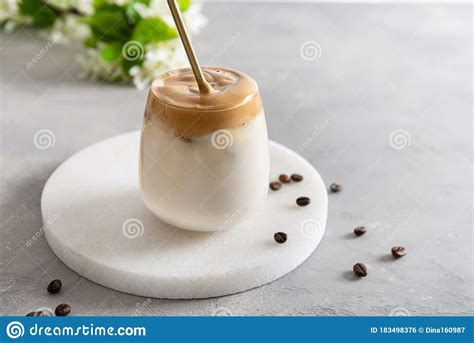 The tiktok sensation is vegan and ready for you to try! Dalgona Coffee Or Whipped Instant Coffee In A Glass. New ...