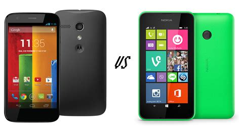 motorola moto g vs nokia lumia 530 comparison what s the