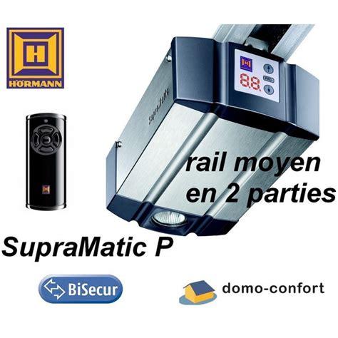Kit Moteur Porte De Garage Supramatic P Série3 Moteur+rail