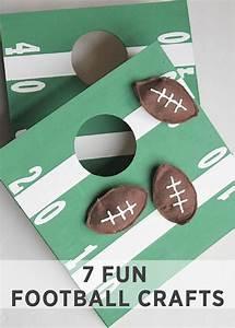 7 FUN FOOTBALL CRAFTS   Fun party games, Football themes ...