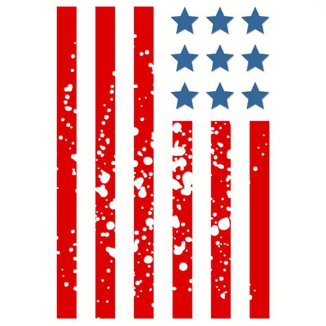 Free vector icons in svg, psd, png, eps and icon font. Patriotic Merica American-Flag Countrified Design Set SVG ...