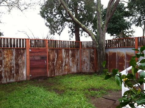 Corrugated Metal Decor by Reclaimed Fencing Amp Grape Stakes Heritage Salvage