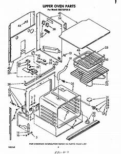 Whirlpool Rb270pxk0 Electric Wall Oven Parts
